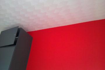 binnenschilderwerk schilder in amersfoort plafond muren wit rood kamer stukadoor armenschilders.nl