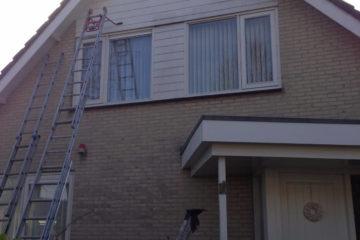 buitenschilderwerk huis wit muren hout leusden amersfoort armenschilders