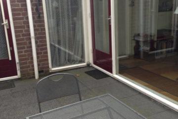 buitenschilderwerk schilder in amersfoort huis raam deur bordeaux rood armenschilders.nl
